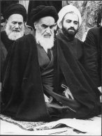 1978 Press Association Photo - 'The Shah's Enemy' Ayatollah Khomeini, Iran, Paris Politics (20cm X 15cm) - Famous People