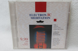 "CD ""Electronic Meditation"" Vol. 1 - Musik & Instrumente"