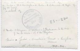 Boechout : St-Gabrielcollege 1945-1946 III De Moderne (fotokaart Met Namen Op Achterzijde) - Boechout