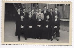 Boechout : St-Gabrielcollege 1946-1947  2° Wetenschappelijke (fotokaart Met Namen Op Achterzijde) - Boechout