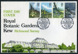 1979 GB Flowers, Royal Botanic Gardens, Kew Official First Day Cover - FDC