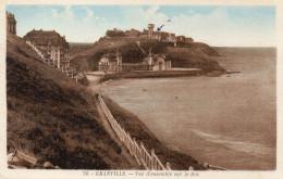 CPA GRANVILLE - VUE D'ENSEMBLE SUR LE ROC - Granville