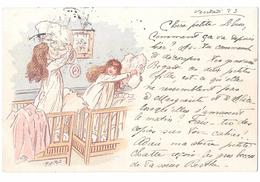Illustr. Maurice Bonvoisin  Firmata  Mars (pseudonimo) - Illustratori & Fotografie