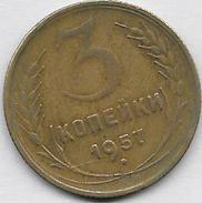 3 KOPECK 1957 Qualité++++ - Russia