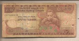 Etiopia - Banconota Circolata Da 10 Birr P-48d - 2006 - Etiopia