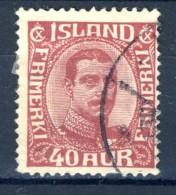 ##Iceland 1920. Michel 94. Cancelled - 1918-1944 Autonoom Bestuur