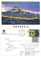 Morella, Spain Postcard Posted 2014 Stamp - Alicante