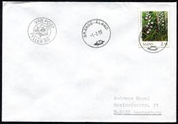 """(1713) Aland, Brief Aus BRÄNDÖ -Aland Vom 1.2.1990 Mit Zusatzstempel """"Var Post Fyller Ar"""" Ersttag Neuer Stempel - Aland"""