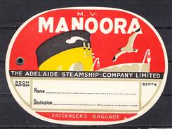 M.V. MANOORA , ADELAIDE, AUSTRALIA - Boats