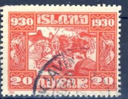 #Iceland 1930. Michel 130. Cancelled - Usados