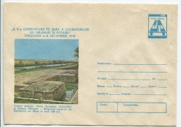 Abutement Of Constantine Bridge - Road And Bridge Constructors´ National Conference-Stationery (original Stamp) - Archéologie