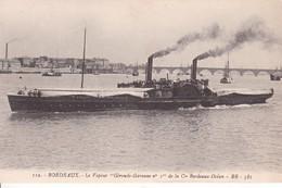 16-83 Bordeaux Le Vapeur Gironde Garonne - Barche