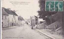 CARTE POSTALE     SAINT MARTIN La GARENNE 78  Rue Principale.Route De Vétheuil - Francia