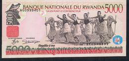 RWANDA P28  5000 FRANCS  1.12.1998     UNC. - Rwanda