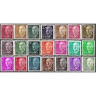 ES1143STV-LFT1143TMI.España. Spain.Espagne. FRANCO..1955/56 (Ed 1143/63**)sin Charnela.MAGNIFICA - 1931-Hoy: 2ª República - ... Juan Carlos I