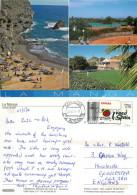Tennis, La Manga, Spain Postcard Posted 2014 Stamp - Murcia