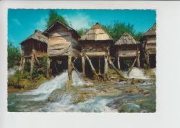 Jajce, Water Mill, Wassermühle, Watermolen Unused Postcard (cb491) Pliva Rive - Bosnië En Herzegovina