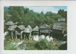 Jajce, Water Mill, Wassermühle, Watermolen Used Postcard (cb492) Nice Infla Stamp 10000din - Bosnië En Herzegovina