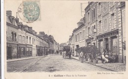 CARTE POSTALE     GAILLON 27  Place De La Fontaine - France