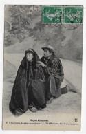 (RECTO / VERSO) TYPES CREUSOIS EN 1917  - BEAU CACHET - CPA - France