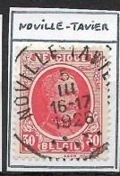 "N° 199 Oblitération ""NOVILLE-TAVIER"" - 1922-1927 Houyoux"