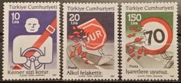 Turkey, 1987, Mi:  2766/68 (MNH) - 1921-... Republic