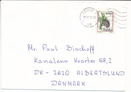 Mi 3456 Solo Cover - 23 February 1996 To Denmark - Pine Tree Pinus Cembra - 1944-.... Republic