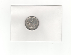 Pièce 5 Francs Argent 1964 - France