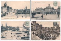 Dunkerque Lot 6 Cartes Anciennes - Dunkerque