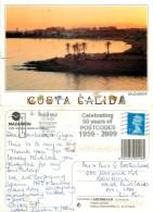 Mazarron, Spain Postcard Posted 2009 Stamp - Murcia