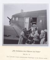 """43# COPIE (10x10cm) D´UN STÉRÉOTYPE DU RARE LIVRE """"DIE SOLDATEN DES FUHRERS IM FELDE"""" - Reproductions"""