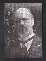 DR. AUGUST BORMS : GEBOREN ST. NIKLAAS 1878 - TERECHTGESTELD ETTERBEEK 12/4/1946  (7305) - Personnages