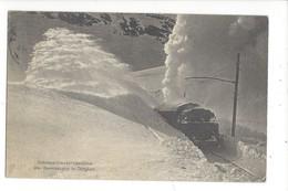 15617 - Schneeschleudermaschine Der Berninabahn In Tätigkeit Tain - GR Grisons