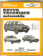 Revue Technique Automobile  Seat Ibiza Ronda P  Malaga - Auto