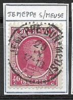 """N° 202 Oblitération """"JEMEPPE-SUR-MEUSE"""" - 1922-1927 Houyoux"""