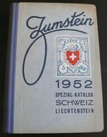 Zumstein - Ctalogue Specialise Suisse - 1952 - 528 Pages - Frais De Port 3.50 Euros - Littérature