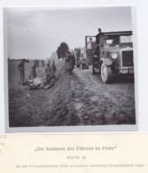 """82# COPIE (10x10cm) D´UN STÉRÉOTYPE DU RARE LIVRE """"DIE SOLDATEN DES FUHRERS IM FELDE"""" - Reproductions"""