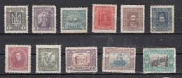 Ukraine Sèrie 1921  11 Valeurs
