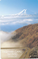 JAPAN Prepaidkarte - Mt. Fuji - Volcans