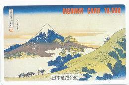JAPAN Prepaidkarte - Mt. Fuji - Vulkane