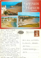 Gorran Haven, Cornwall, England Postcard Posted 1993 Stamp - Other