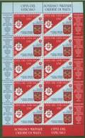 VATICANO  2008 -- Convenzione Con SMOM In Minifoglio --  ** MNH - Blocks & Sheetlets & Panes