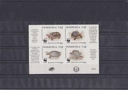 VENEZUELA 1992 WWF Imperforated MNH With Turtles. - W.W.F.