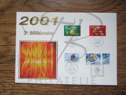 "FDC GRAND FORMAT "" 2001 3° MILLENAIRE "" !!! - FDC"