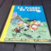 Johan Et Pirlouit La Pierre De Lune Dos Rond Réed - Johan Et Pirlouit