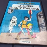 Johan Et Pirlouit La Guerre Des 7 Fontaines Dos Rond Réed - Johan Et Pirlouit
