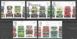 GB - Autobus - Série Complète - Oblitérés -  Lot 267 - Gebruikt