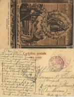 CARTOLINA ILLUST POSTA MILITARE CONC SUSS 1 1916 SANITA TRENO ATTREZZATO 29 - 1900-44 Victor Emmanuel III.