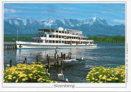 Starnberg  Mit Motorschiff  SEESHAUPT
