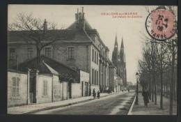 51 CHALONS SUR MARNE - Le Palais De Justice - 1906 - Châlons-sur-Marne